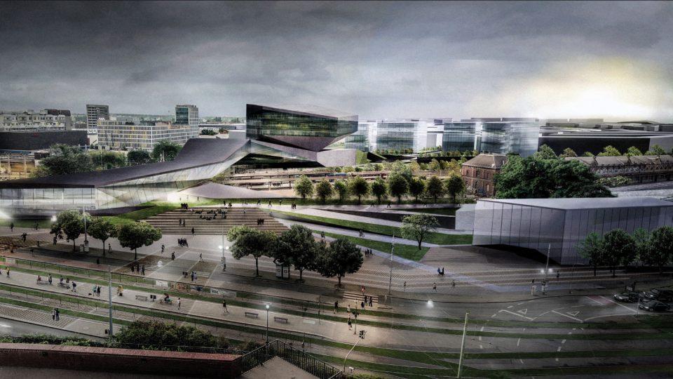 Finalista: Plasma studio, hlavní budova nádraží pod Petrovem