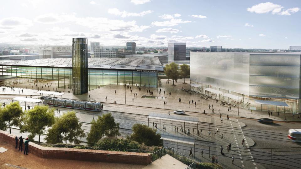 1. místo: UNIT architekti, hlavní budova nádraží pod Petrovem