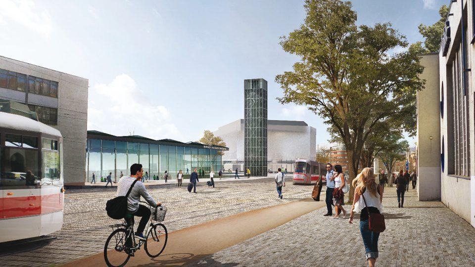 1. místo: UNIT architekti, ulice Nádražní