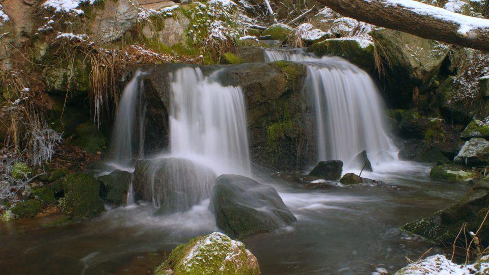 Odlezelské vodopády