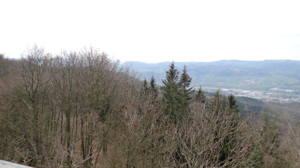 Rozhledna Velký Chlum - výhled