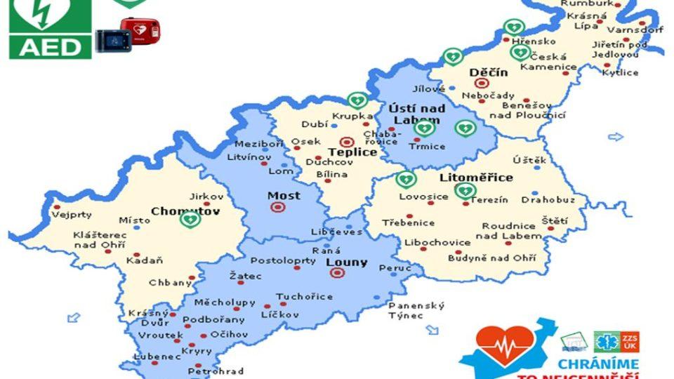 First responders - mapa