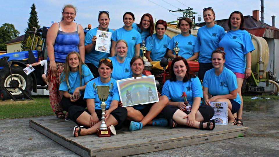 V roce 2015 vybojovalo putovní pohár družstvo našich žen