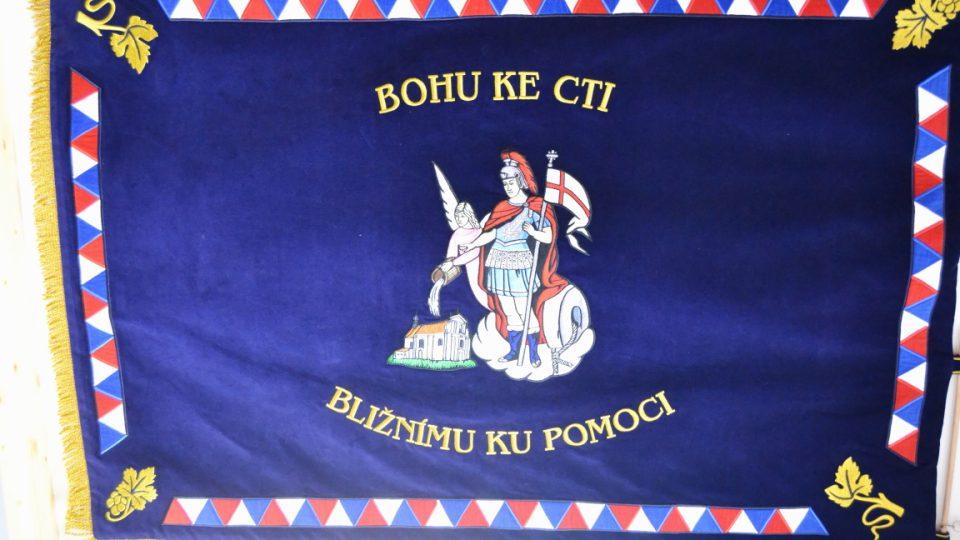 Vlajka SDH Křešice
