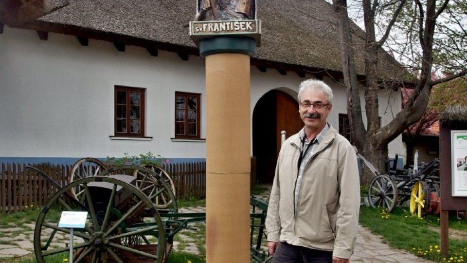 Ředitel Zoo parku Vyškov Josef Kachlík