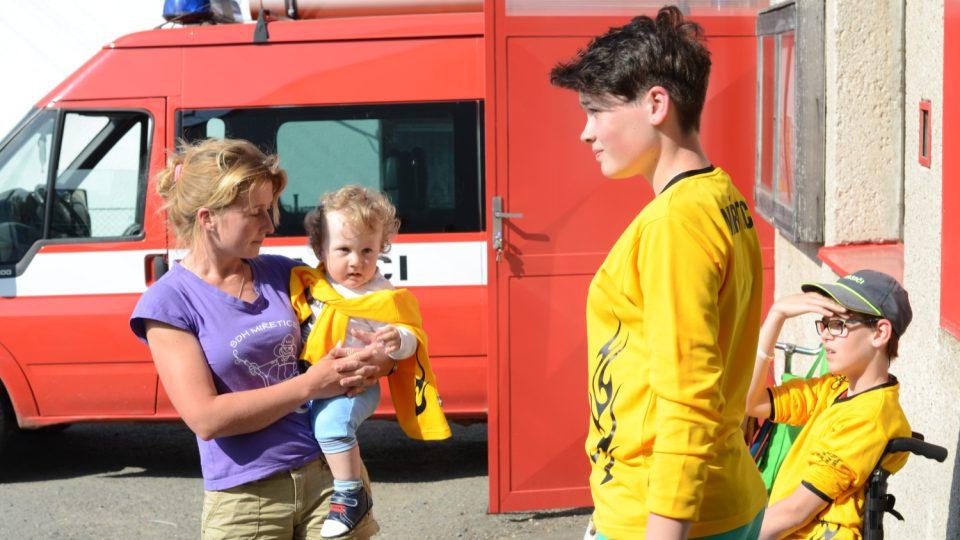 Mladí hasiči z SDH Miřetice