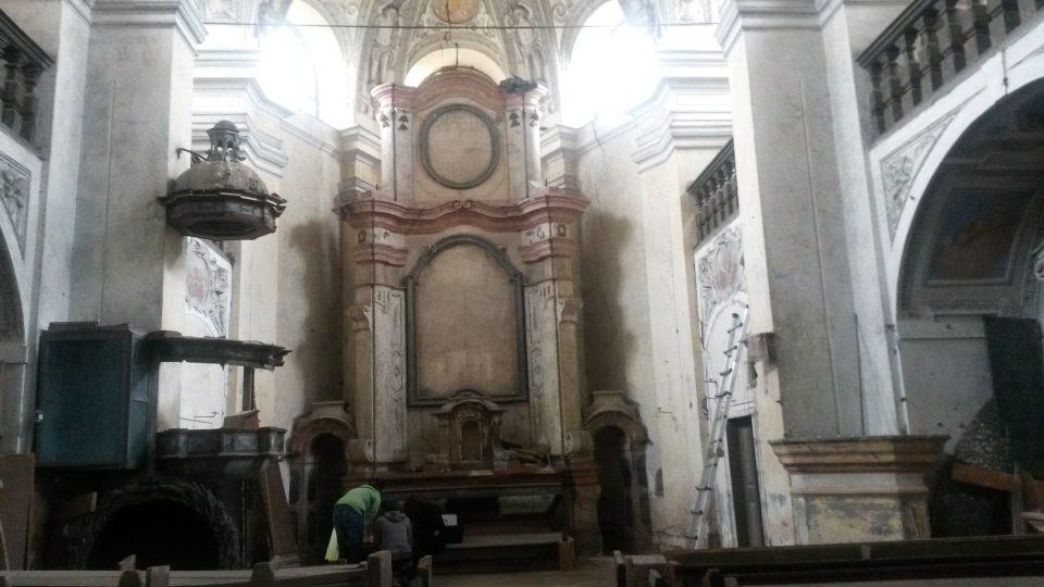 Zahořany - kostel