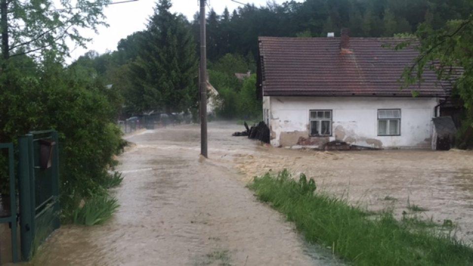 Královehradecký kraj zasáhla silná bouře - Jeníkovice
