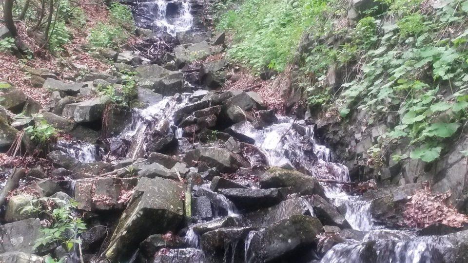 Nejvíce vody tudy teče po jarním tání a po bouřkách