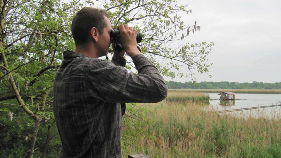Ornitolog Patrik Molitor