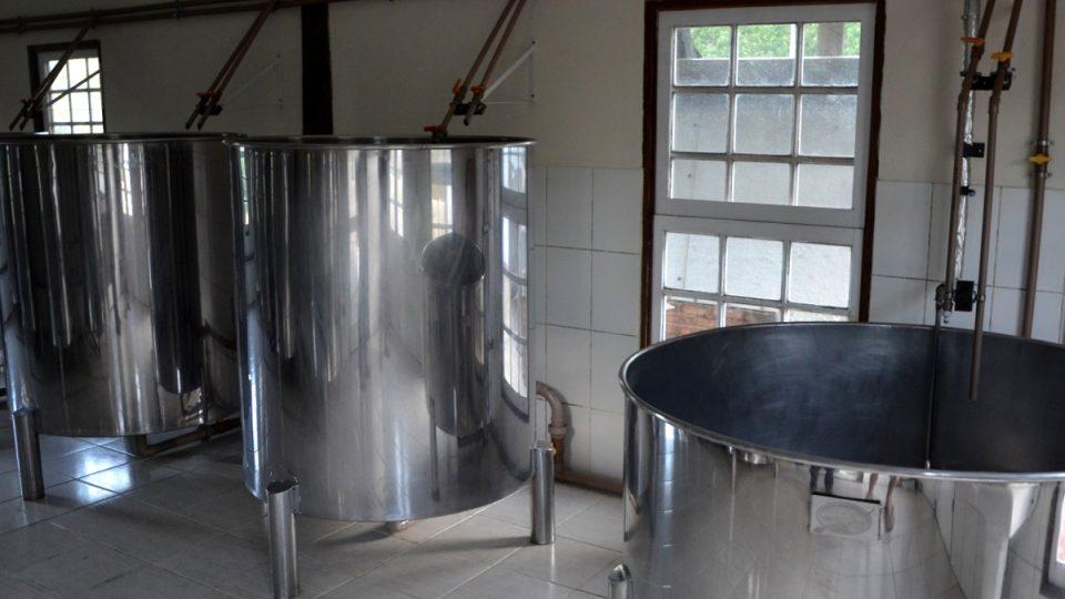 Místnost pro fermentaci