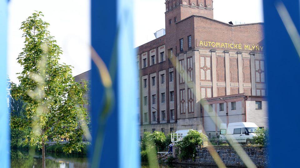 Nové přístaviště vzniká v bezprostřední blízkosti Automatických mlýnů