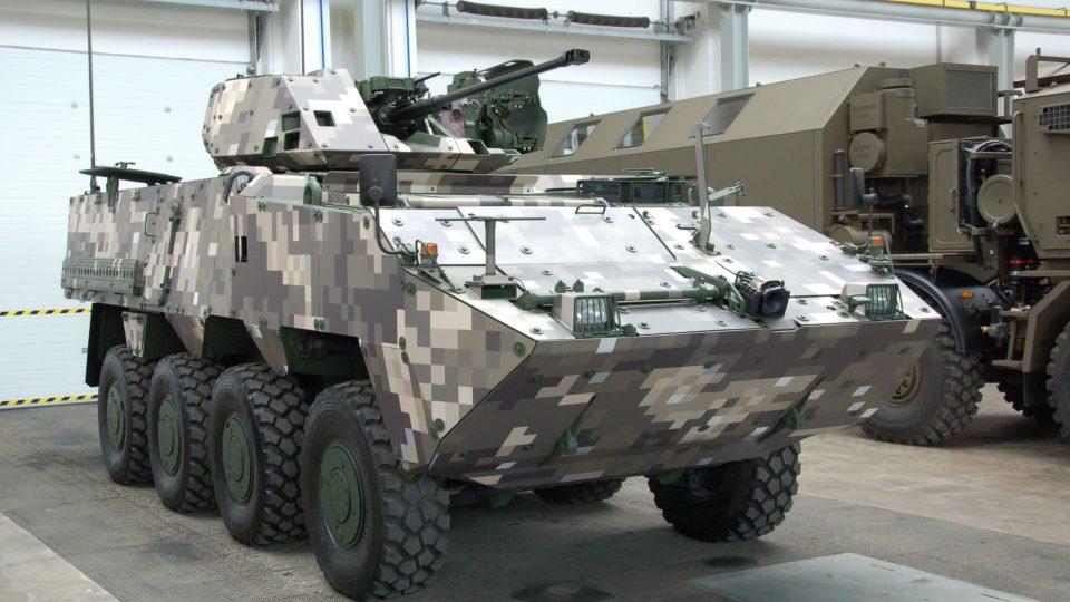 Vojenská vozidla v Tatra Defence Vehicle
