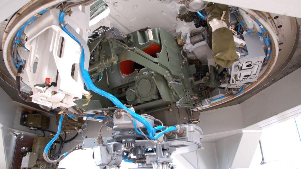 Věž tanku v Tatra Defence Vehicle