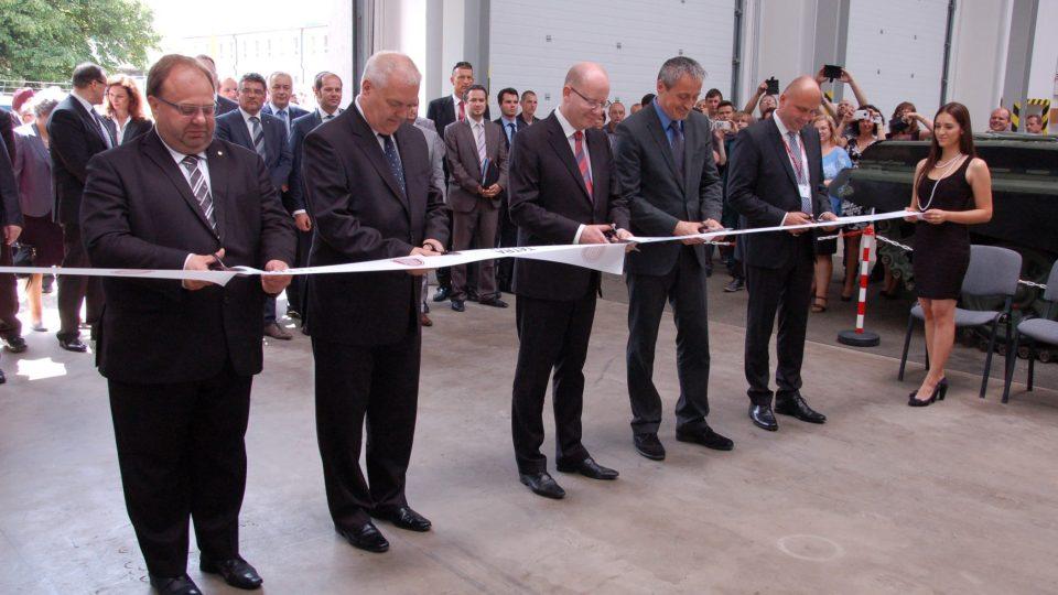 Slavnostní zahájení provozu Tatra Defence Vehicle
