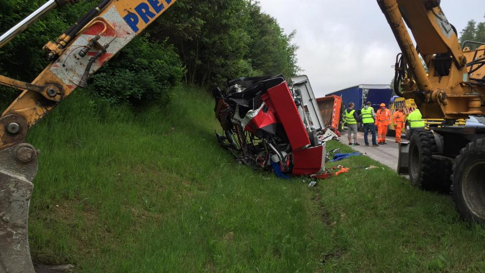 Dálnice D1, nehoda u Velkého Beranova