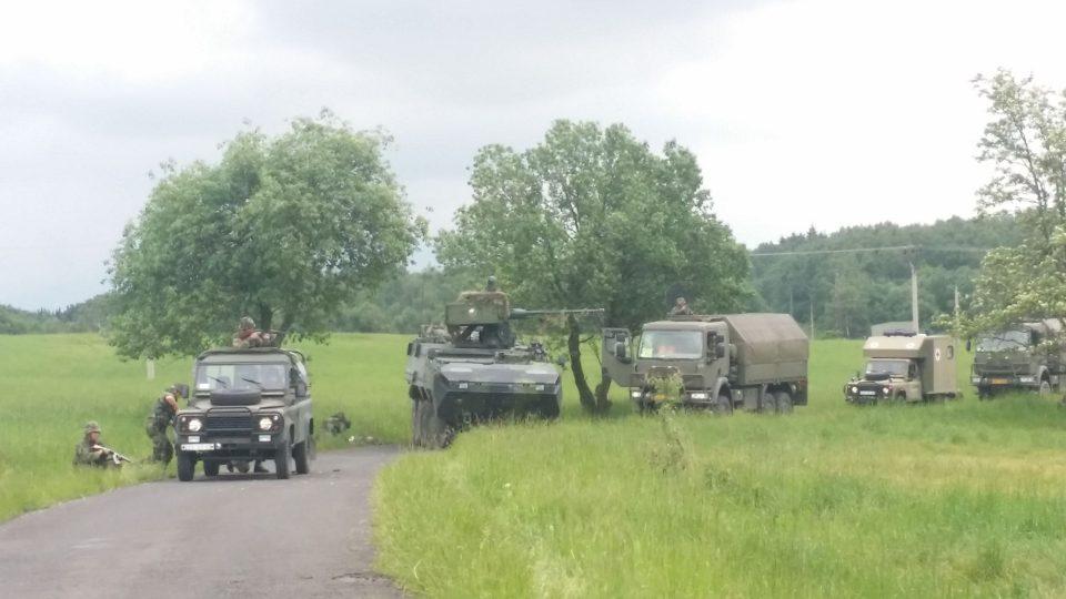Vojenské cvičení v Tisé