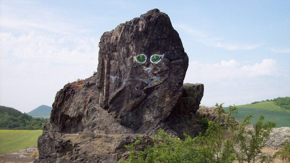 Kočka je z geologického hlediska ukázka pronikání magmatu do okolních hornin