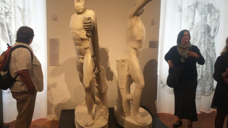 Nová výstava na duchcovském zámku se věnuje historickým odlitkům antických soch