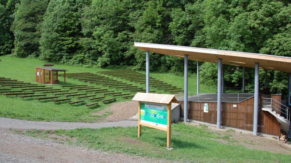 Obnovený letní amfiteátr