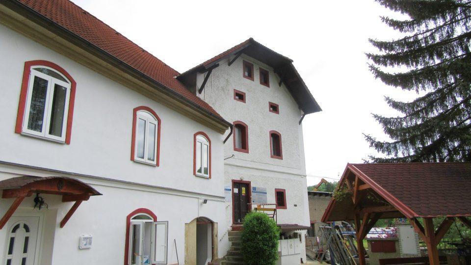 Čechův mlýn u Berounky