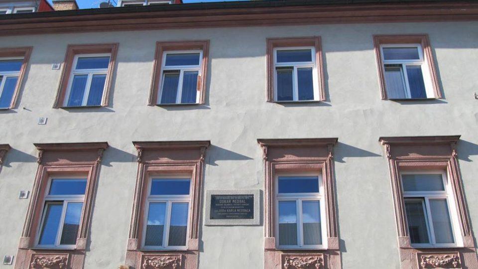 Rodný dům Oskara Nedbala v Táboře