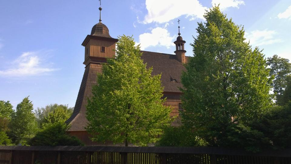 Dřevěný kostel svaté Kateřiny Alexandrijské v Ostravě-Hrabové