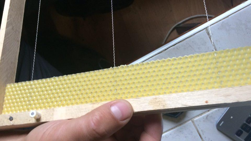 Pohled dovnitř úlu
