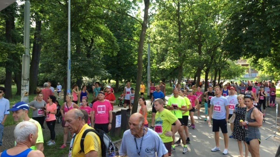 Olympijský běh stromovka