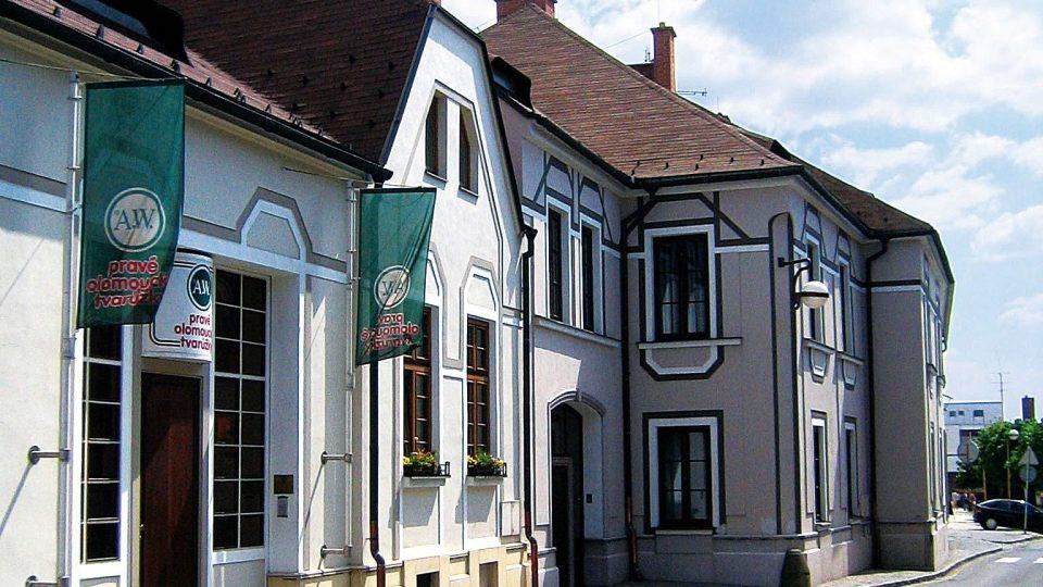 Budova muzea v Lošticích po rekonstrukci