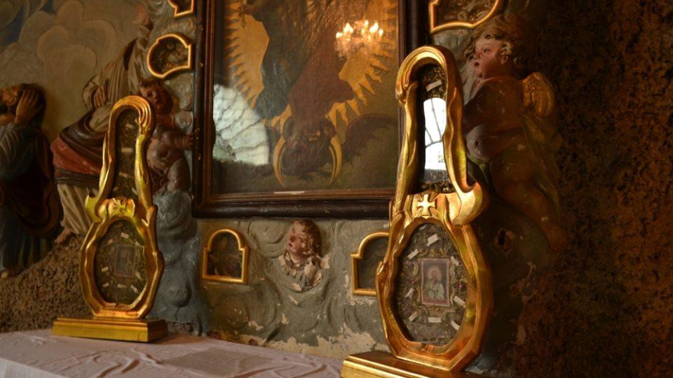 S relikviemi svatých se v 18.století čile obchodovalo