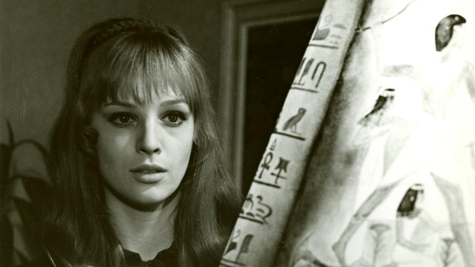Danuše Klichová ve filmu Svědectví mrtvých očí (1971)