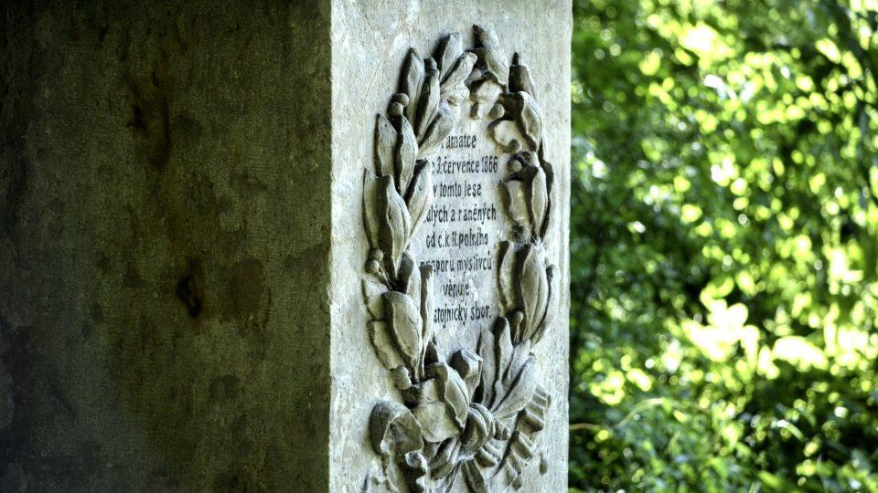 Detaily pomníků