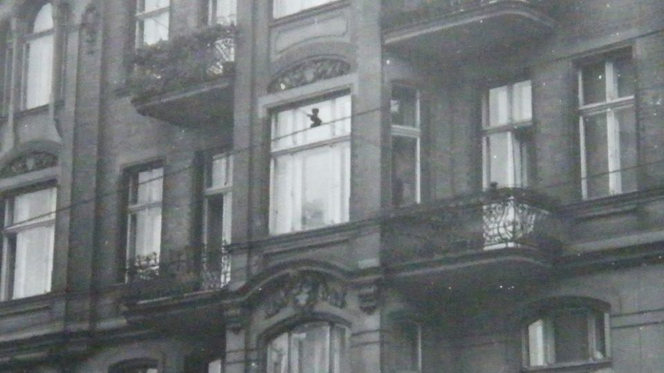 Dům v Poznani, kde M. Šupíková do roku 1945 žila