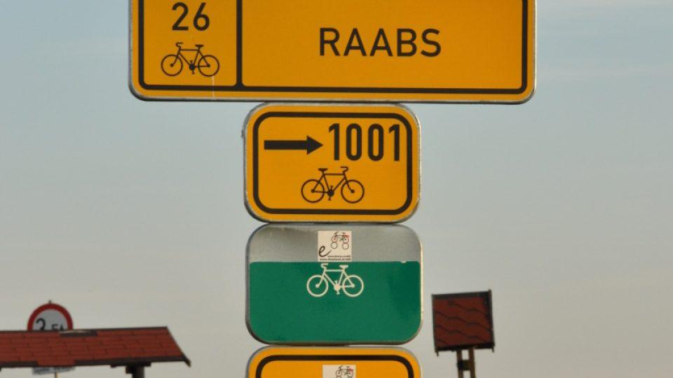 Dálková trasa Jihlava-Třebíč-Raabs má ale jen 2 cifry