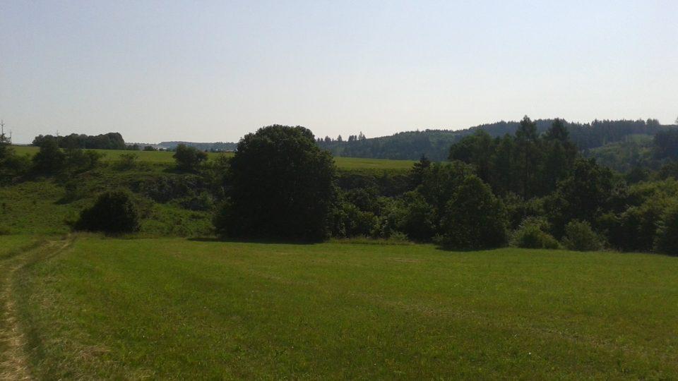 Rudické kolíbky leží ve střední části Moravského krasu