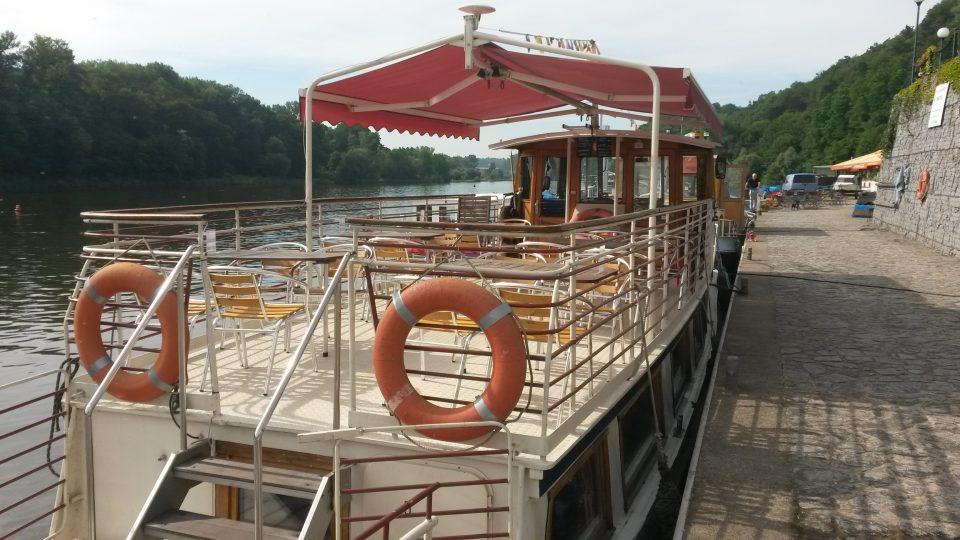 Loď Fidelio Mělník