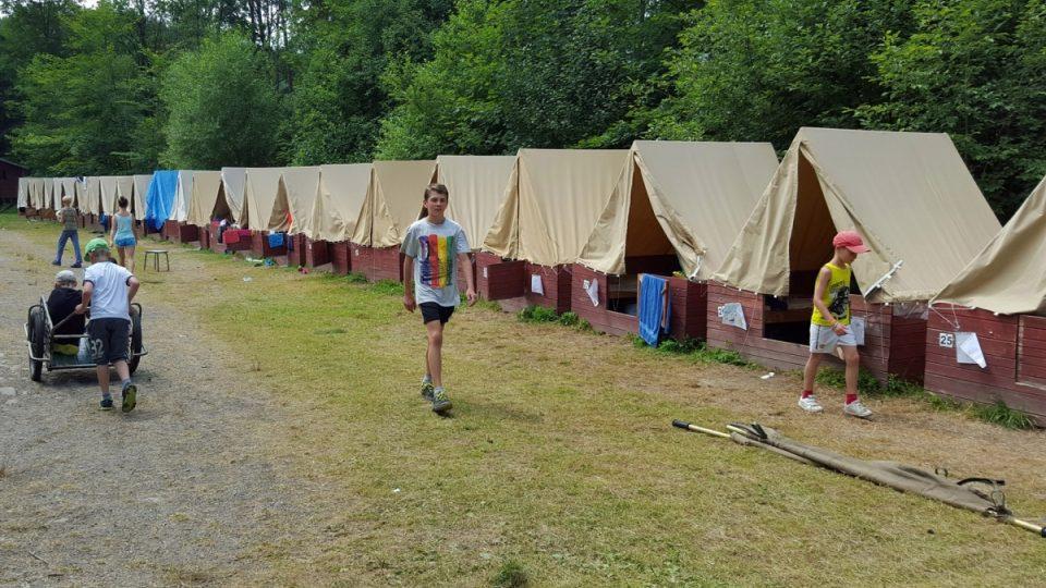 Dětský tábor v Radešově na Šumavě