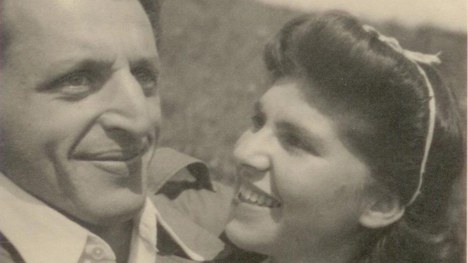 Miloš a Zuzana Dobří na svatební cestě, 12. 9. 1949