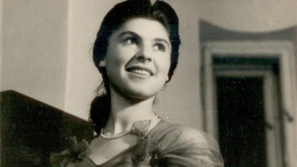 Zuzana Beckmannová v roce 1947 v Olomouci