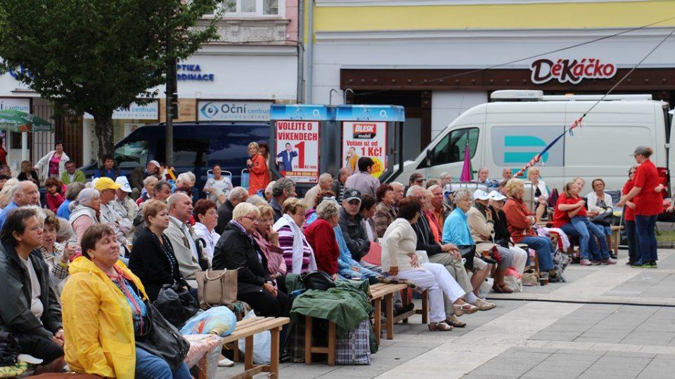 Návštěvníci festivalu Kubešova Soběslav