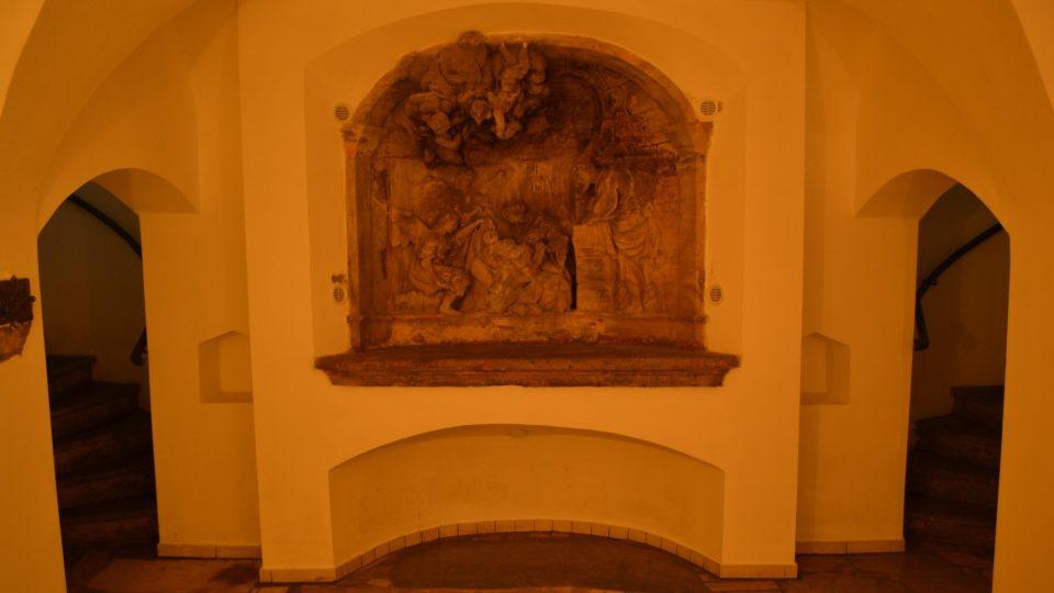 V areálu Kalvárie jsou kromě chrámu tři kaple, do Betlémské musíte sejít do podzemí