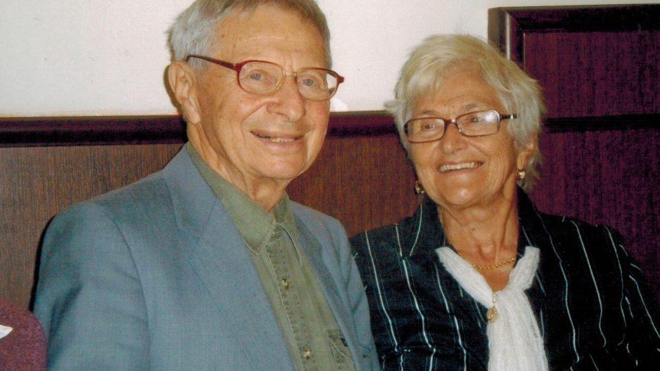 Miloš Kocman s manželkou