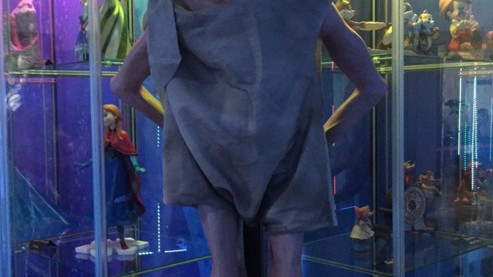 Skřítek Dobby z filmů o Harrym Potterovi