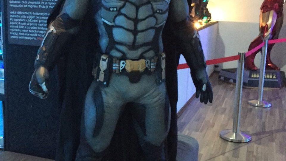 Potkáte tu i Batmana
