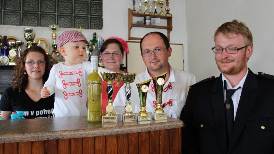 Nejnovější přírůstky do sbírky trofejí v Nemějicích