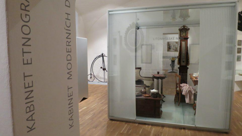 Expozici Litomyšlské nebe Regionální muzeum věnovalo slavným rodákům a osobnostem Litomyšle