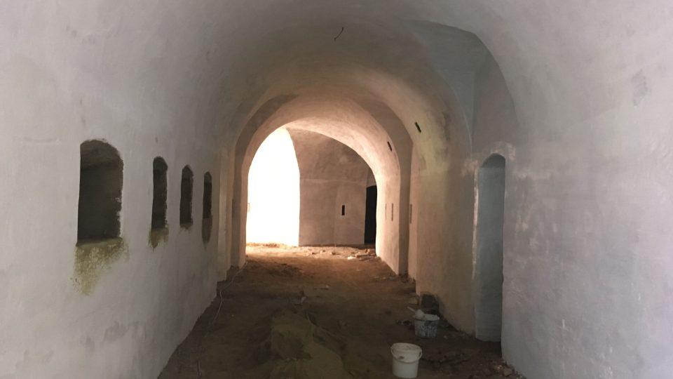 Opravy v terezínské pevnosti