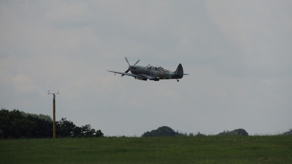Spitfire ve vzduchu