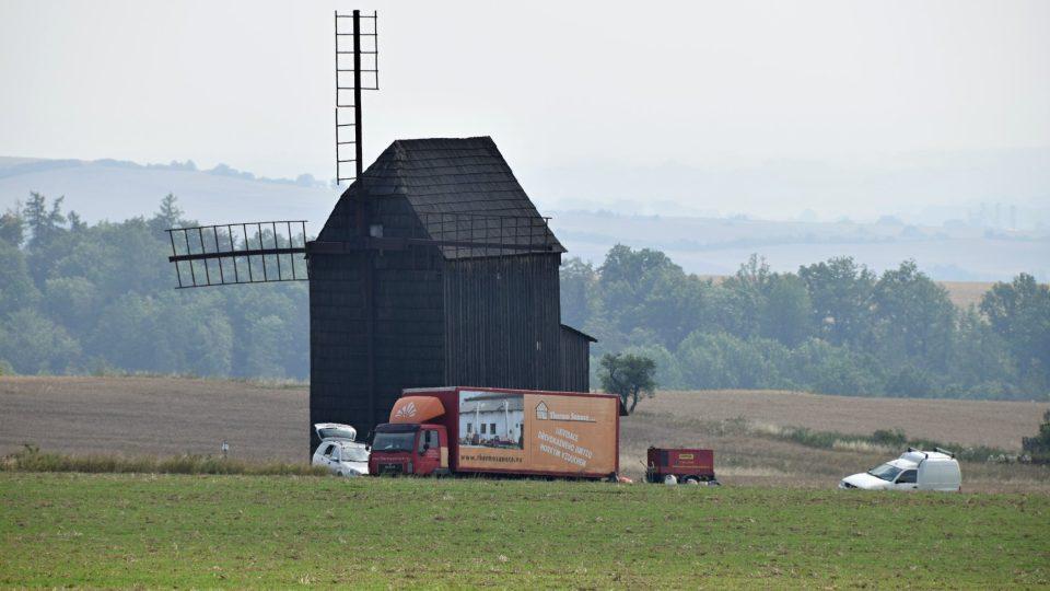 Větrný mlýn v Bílovci-Nových Dvorech